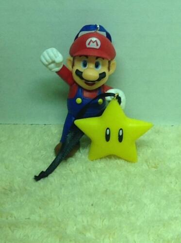 Super Nintendo Christmas Tree Ornament Set Mario & Star