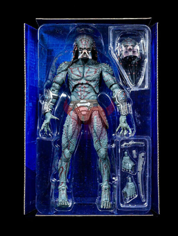 "NECA 2018 The Predator ARMOURED ASSASSIN 12/"" Deluxe PVC Action Figur Modell"
