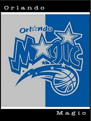 "BIEDERLACK NBA ORLANDO MAGIC 50""x60"" HEAV THICK THROW BLANKET NEW"