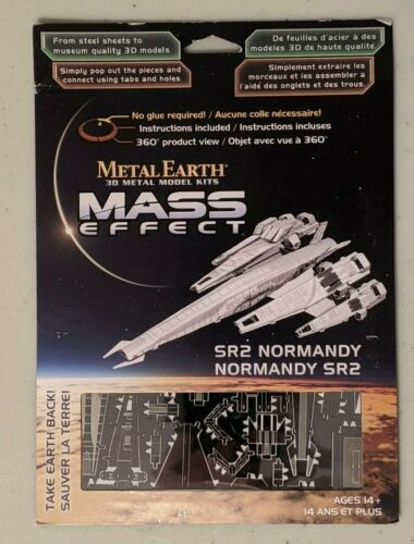 Metal Earth Mass Effect SR2 Normandy model