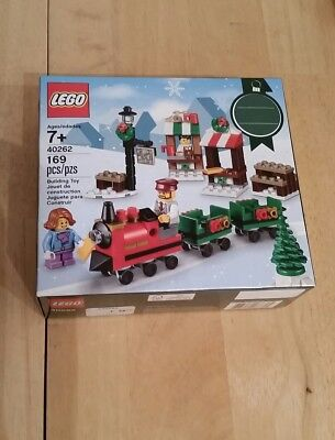 LEGO 40262 Christmas Train Ride 2017 Holiday Seasonal Set 169pcs New Free Ship