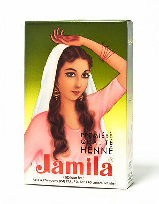 BUY 5 GET 1 FREE Jamila Henna Powder hair dye 100% pure natural Mehandi Color