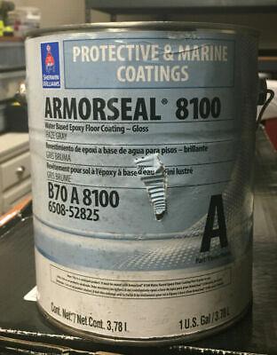 Sherwin Williams Armorseal 8100 Water Based Epoxy Floor Coating B70a8100