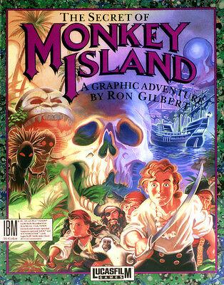 """Kostbare Erstauflagen: das LucasArts-Meisterwerk """"The Secret of Monkey Island"""" von 1990. (© Gameplan.de)"""