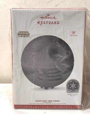 Hallmark Keepsake Star Wars Death Star Christmas Tree Topper 2019 w/ Remote