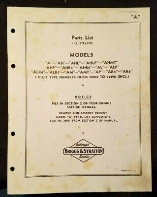 Lauson Manual Of Overhaul Instructions 1956 Industrial Air Cooled Engines Fine