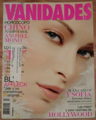 FEBRUARY 17 2004 VANIDADES MAGAZINE, USA EDITION, BEN AFFLECK, PENELOPE CRUZ