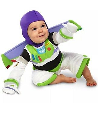 Light Up Baby Costume (DISNEY STORE TOY STORY Buzz Toddler BABY COSTUME  3/6/12/18/ 24 Months Light)
