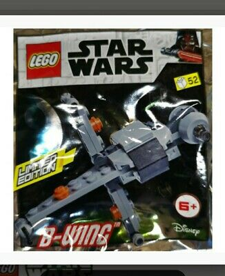 LEGO Star Wars - B-WING Fighter - 2019 Foil Polybag Minifigure Set 911950 NEW