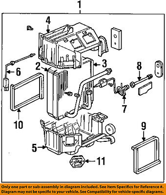 ISUZU OEM 93-97 Rodeo Blower Motor-Resistor 8972407410