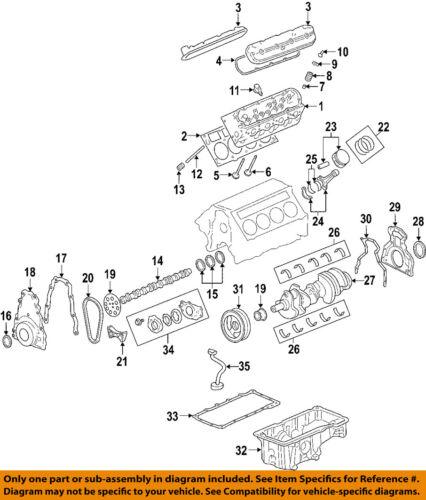 Pontiac GM OEM 04-06 GTO-Engine Oil Pick-up Tube 12572654   eBay   2006 Gto Engine Diagram      eBay