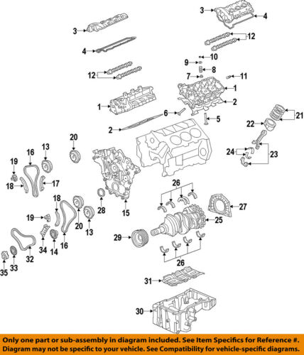 HYUNDAI OEM 06-14 Azera-Engine Valve Spring Keepers Retainers 222223CAA0 |  eBay | 2008 Azera Engine Diagram |  | eBay