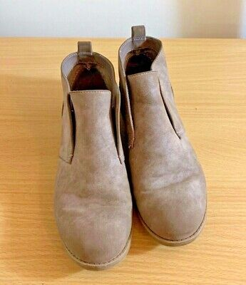 Indigo Rd. Women's Booties Size 6M Brown Faux Leather Ankle Boots