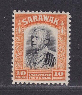 Sarawak SG 125 Scott 134 VF MNH/UMM 1934 $10 Charles Vyner Brooke SCV $35+