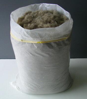 Hanf Stopfwolle 5 kg = 3,80 Euro/kg Dämmstoff Dämmhanf  ersetzt PU-Schaum