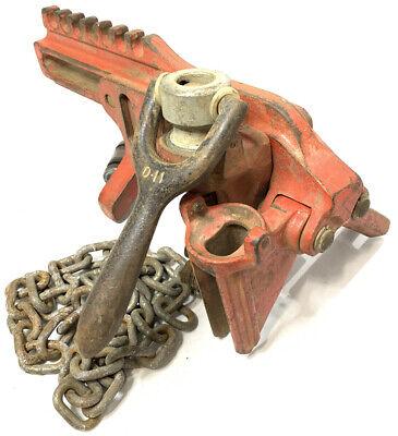 Ridgid Chain Vise Soil Pipe Wrench C-1070 C-1071 C-1072 Plumber Tool No Handle