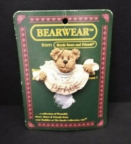 Boyds Bears BearWear Serenity Peace Angel Pin #26173