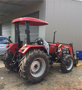 2011 CASE IH JXU 85 Tractor Tolga Tablelands Preview