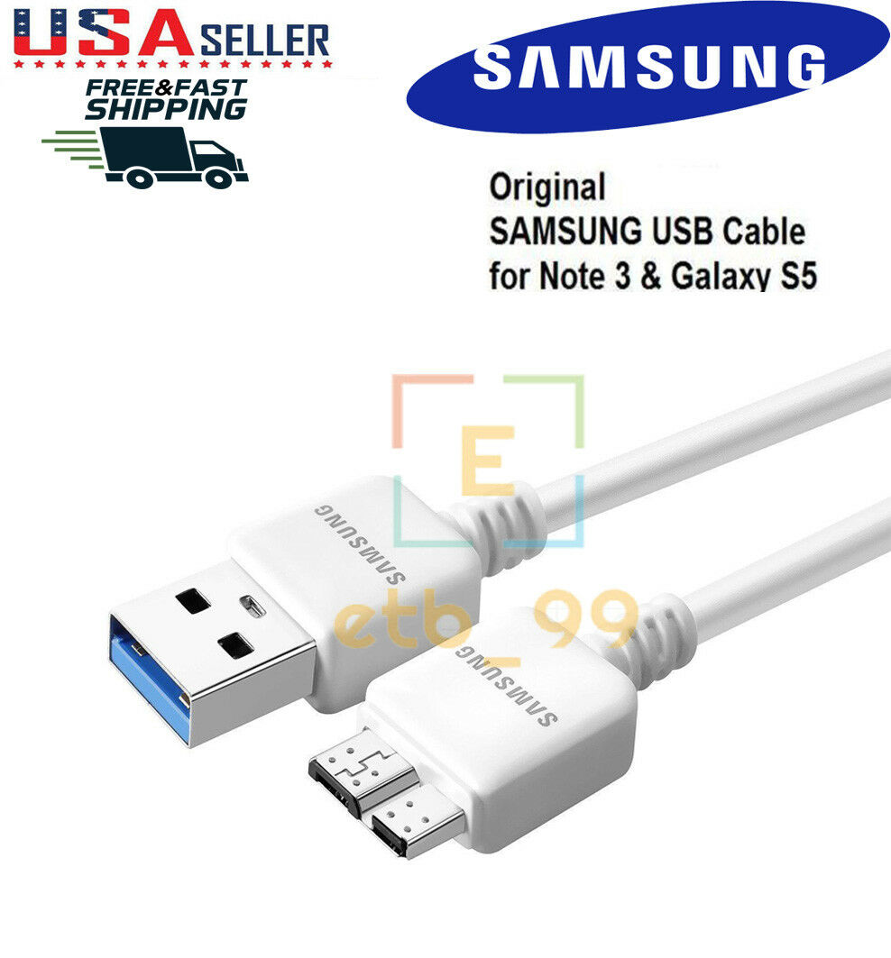 New Original OEM Samsung Galaxy Note 3 S5  N900 USB 3.0 Data