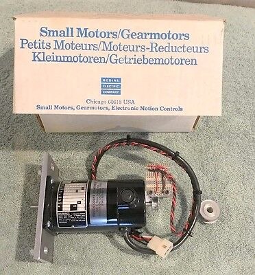 Bodine N4444 24v Motor 24a4fepm S0926004 2500rpm With External Encoders