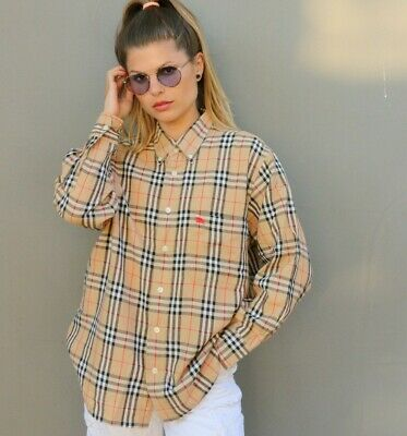 Vintage Burberry Nova Check Shirt. Size L. Fits like a medium.