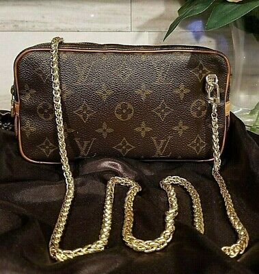 Authentic Louis Vuitton Vintage Marly Bandouliere Crossbody US Seller