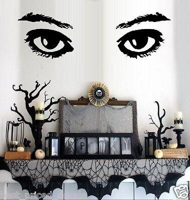 Best Halloween Wall Decorations (Eyes # 2 ~ Halloween Wall or Window)
