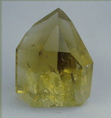 A+++ Huge!! Natural Clear Smoky Citrine Quartz Crystal Point 1430g