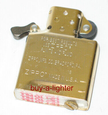 Zippo Lighter Replacement Inserts Butane Chrome Brass Cigar Torch Pipe - NEW
