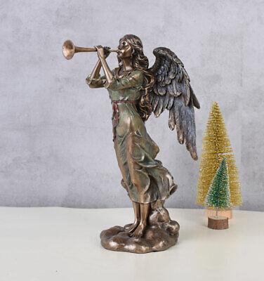 Engel Figur Renaissance Schutzengel Antik Dekofigur sakral Gartenfigur Dekoengel