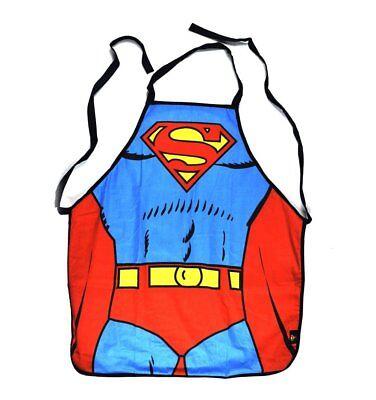 Klassische Superman-Outfit Torso Küchenschürze Kostüm Aussenseitersonderling - Klassische Superman Kostüm