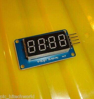 Tm1637 Serial Led 7segment Display 4 Digits Module