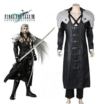 FF 7 VII Final Fantasy Advent Children Sephiroth Shin'Ra Cosplay Kostüm costume - Sephiroth Cosplay Kostüm