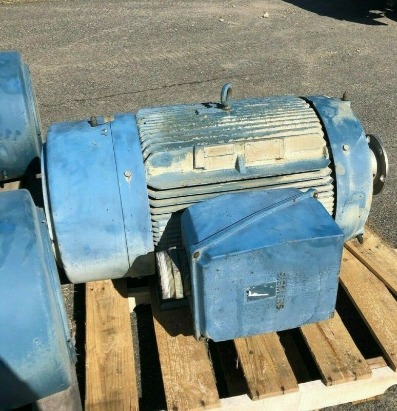 SIEMENS NEMA PREMIUM EFFICIENCY 200HP 460V ELECTRIC MOTOR, Model RGZEESDX