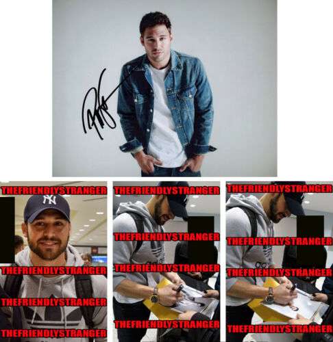 RYAN GUZMAN signed Autographed 8X10 PHOTO - PROOF - Step Up SEXY Hot 9-1-1 COA