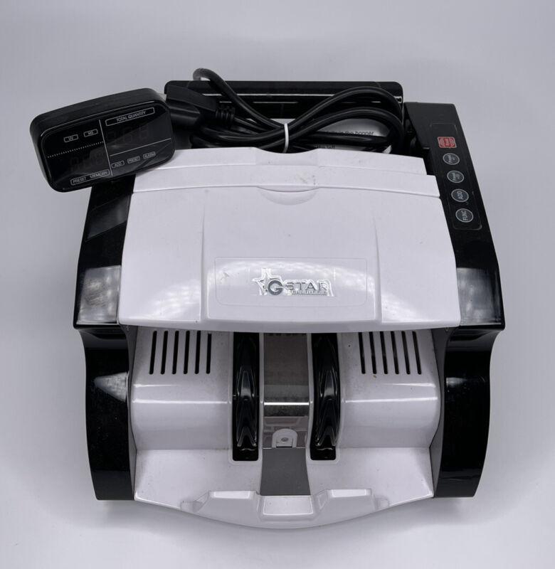 GStar Technologies GS NX422B Auto bill Money Counter Counterfeit Tested Works