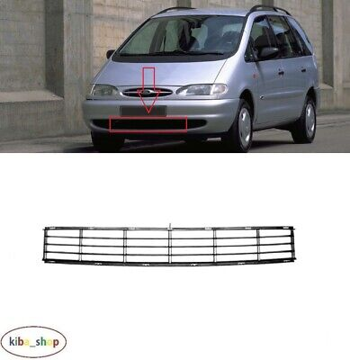 FOR FORD GALAXY MK1 1995 - 2000 NEW FRONT BUMPER BLACK CENTER RADIATOR GRILL for sale  Shipping to Ireland