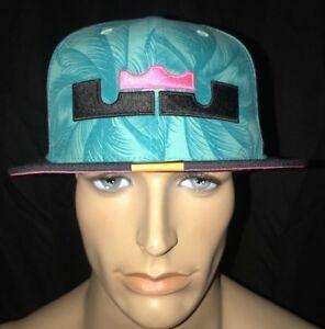 Nike LeBron 11 South Beach Limited Edition True Snapback Hat Cap