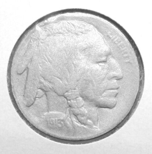 VERY RARE 1913S TYPE II BUFFALO NICKEL - FREE SHIPPING - RN3207