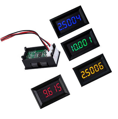 Led 5 Digit Dc 0-4.3000-33.000v Digital Voltmeter Voltage Meter Car Panel L