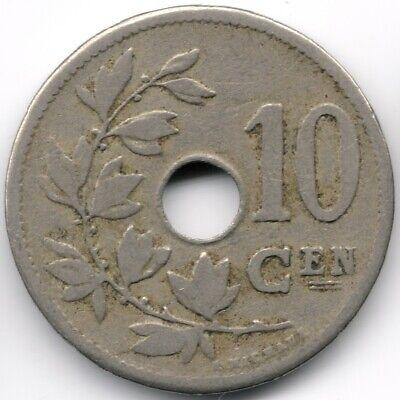 Belgium : 10 Centimes 1904 Dutch Legend