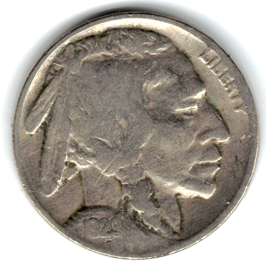 1929 Buffalo Nickel In VERY GOOD Condition PLEASE SEE THE SCAN Stk Bn-813 - $3.25