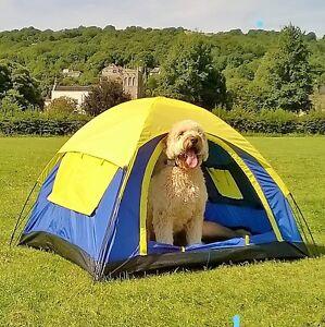 Dog Tent 125x105x80cm Stormproof Ideal  4 Child parties & sleepovers    .