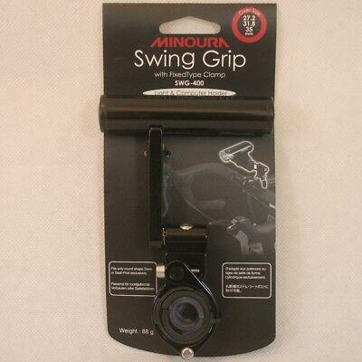 Einstellbare Swing (Minoura Swing Grip SWG-400 Tacho- und Lampenhalter 100mm verstellbar einstellbar)