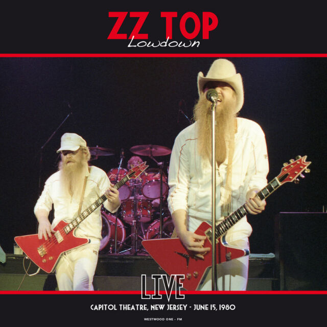 ZZ TOP - LOWDOWN/LIVE AT THE CAPITOL THEATRE 1980 - 140 Gram VINYL - BRAND NEW