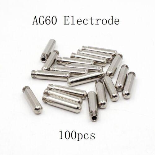 WSD-60 AG60 Air Plasma Cutter Cutting Consumables AG-60 SG-55 Electrodes Pkg-100