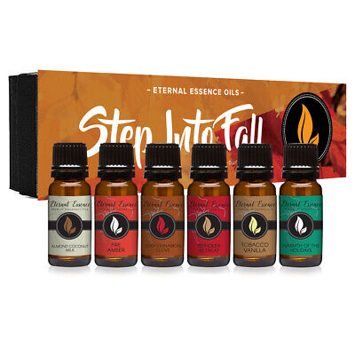 - Step Into Fall - Gift Set of 6 Premium Fragrance Oils - 10ML