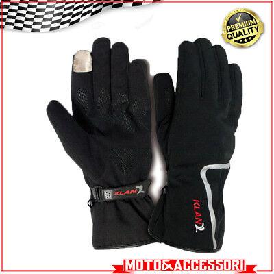KLAN easy Handschuhe Motorroller Heizanlagen Größe s wasserdicht Touchscreen