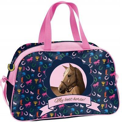 b1280b478c0bf Kindersporttasche für ein Schwimmbad TOUR HORSE. Kindersporttasche für ein  Schwimmbad TOUR HORSE. MÄDCHEN -Sporttasche Schwimmtasche Freizeittasche ...
