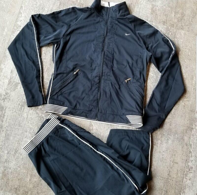 Nike Track Suit Warmup Jogging Pants and Windbreaker Jacket Women